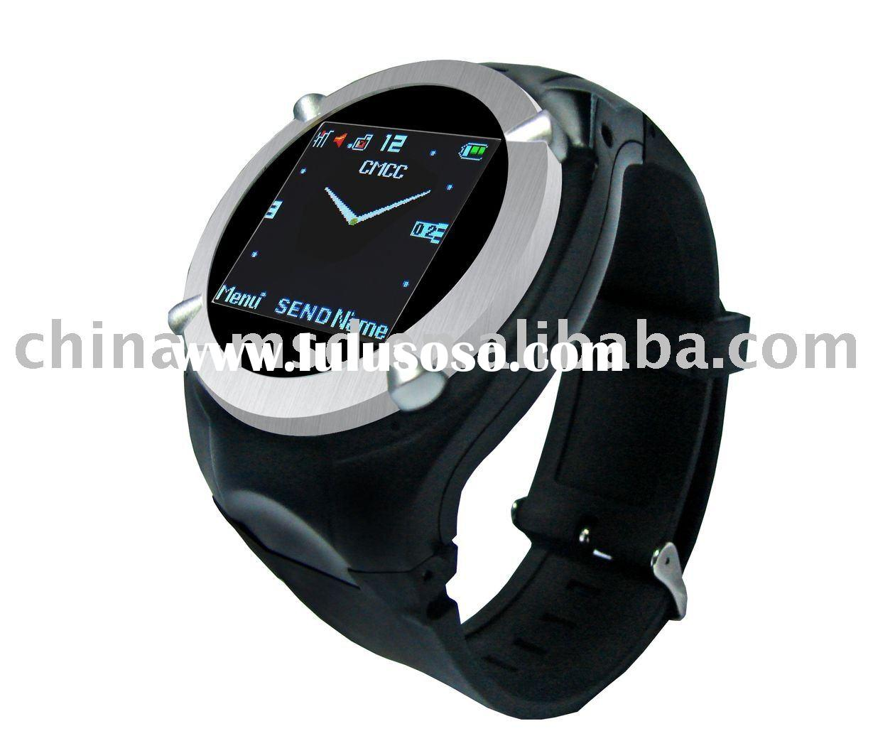 2011 latest cool mq006 wrist watch mobile phone for sale with CE certificate