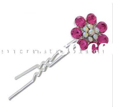 2011 newest fashion wedding rhinestone hair pin