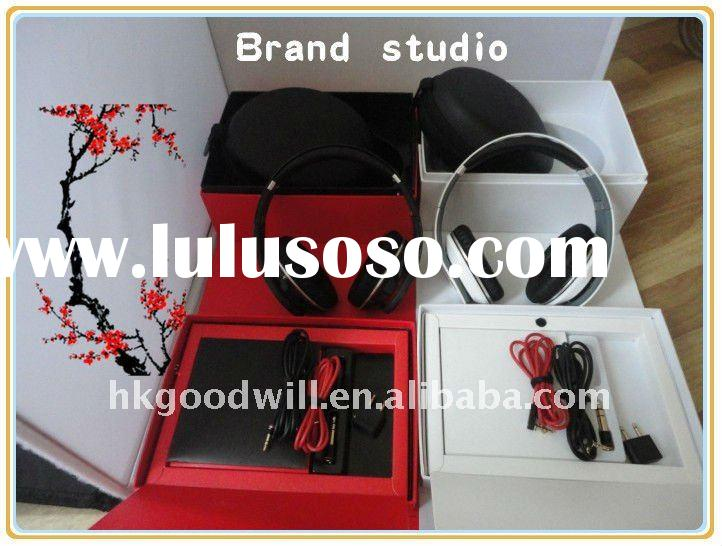 2011 wholesale best quality best price Noise Cancelling studio headphones with first-rate quality