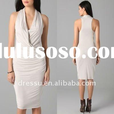 2012 Hot Selling Fashion Ladies Casual Dress, Women Wholesale Fashion Clothing