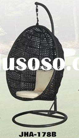 2012 Hot sale SG-JHA-178B Outdoor pe rattan swing egg chair