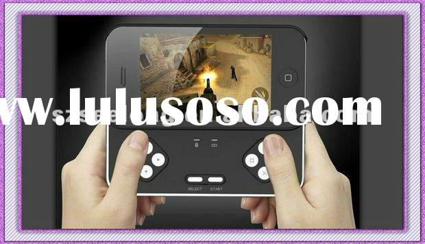2012 Latest for iPhone 4 4S Applecore Bluetooth Game Controller Sliding Case Joystick Joypad Gamepad