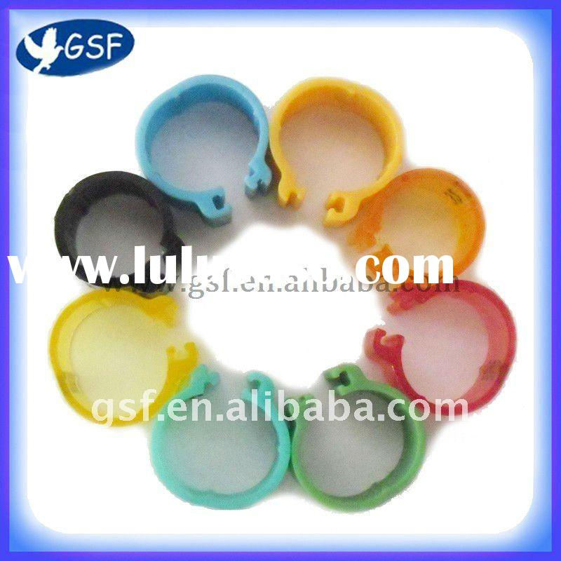 2012 latest version fashion promotion plastic racing pigeon ring pigeon tag pigeon band for bird pro