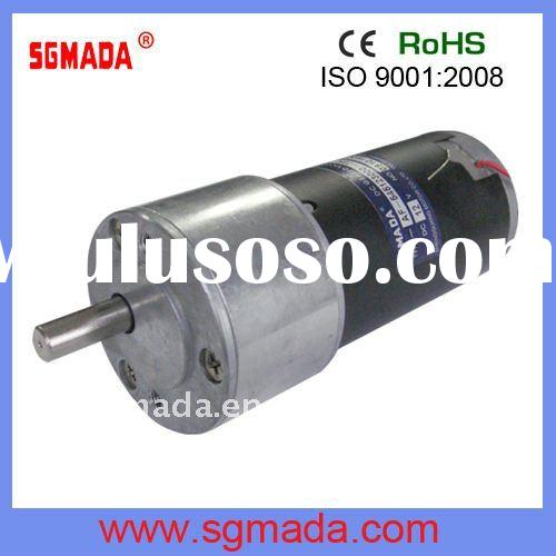 24VDC high torque low rpm dc motor with gearbox