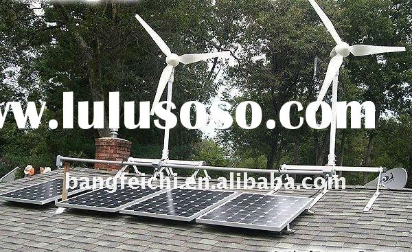 2kw wind and solar power generator