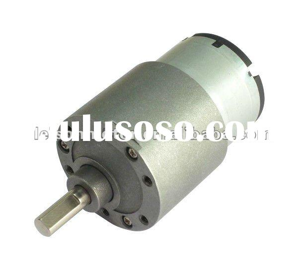 37mm 12v high torque low rpm dc gear motor