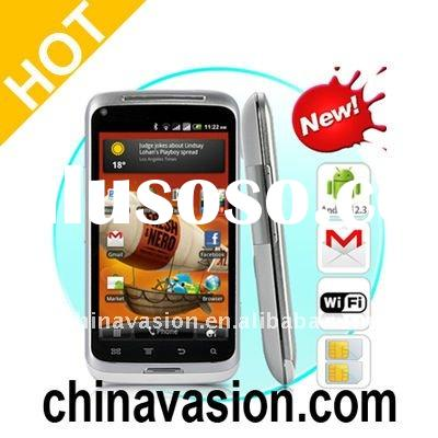 3G Android Phone with 4 Inch Capacitive Touchscreen (8MP Camera, Dual SIM, WiFi)
