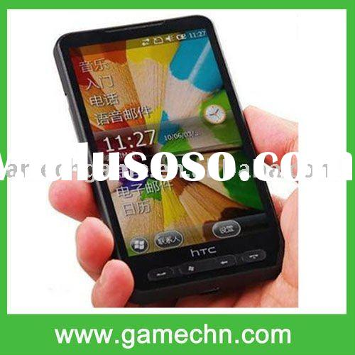 "4.3"" Touch Screen dual sim card dual standby Windows 6.5+Wifi+GPS HD2 Phone --- T8585"