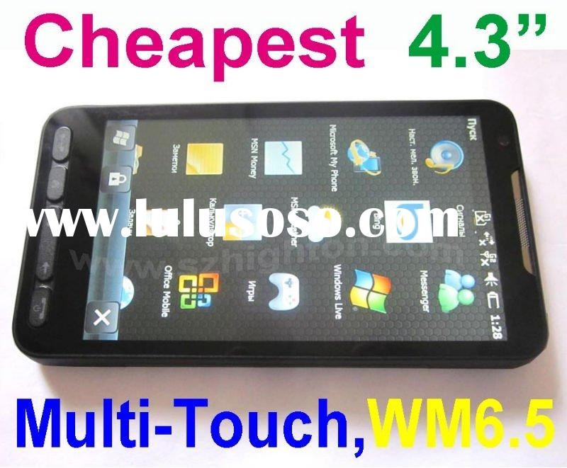 4.3inch 4.3 inch Windows Mobile 6.5 smart phone or mobile phone or Cell Phone or Cellphone with wind