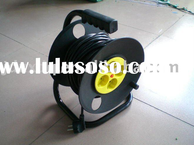 4- way electric Cable reel drum