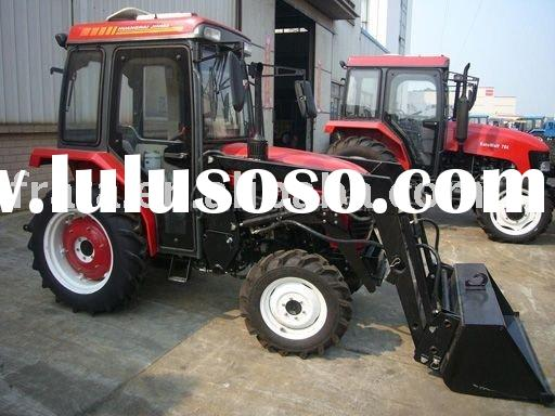 55HP 4WD front end loader garden Tractor (EPA , EEC, E-mark, OECD approved)