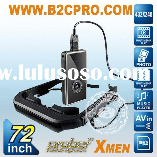 72 inch Mobile theatre\Video glasses\Mp4 glasses\Eyewear cinema