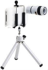8X Zoom Camera Lens Optical Telescope for iPhone 4 NEW