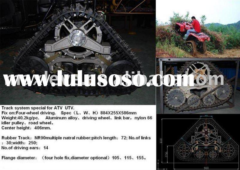 ATV Rubber Track system