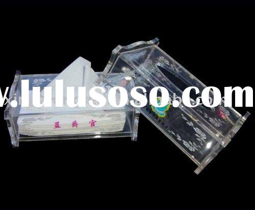 Acrylic tissue box,facial tissue box,tissue holder,napkin box,tissue cover,napkin cover,tissue case,