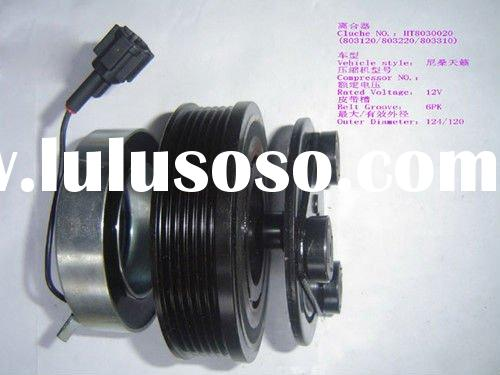 Auto part electric clutch for air conditioning system