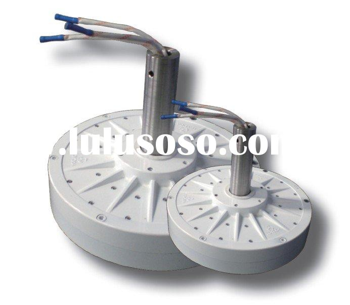 Axial type wind power generator&VAWT with rare-earth magnet