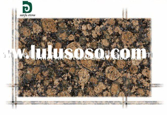 Baltic Brown granite slab tile countertops