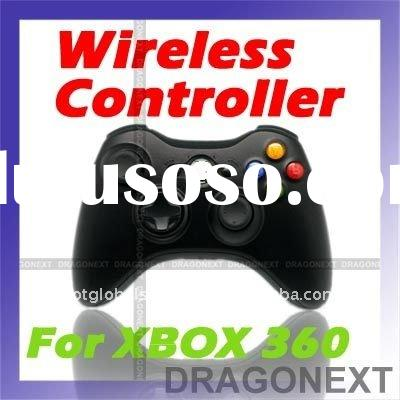 Black Glossy Wireless Controller Fr xBox 360 xBox360 Elite Pro Slim S Video Game