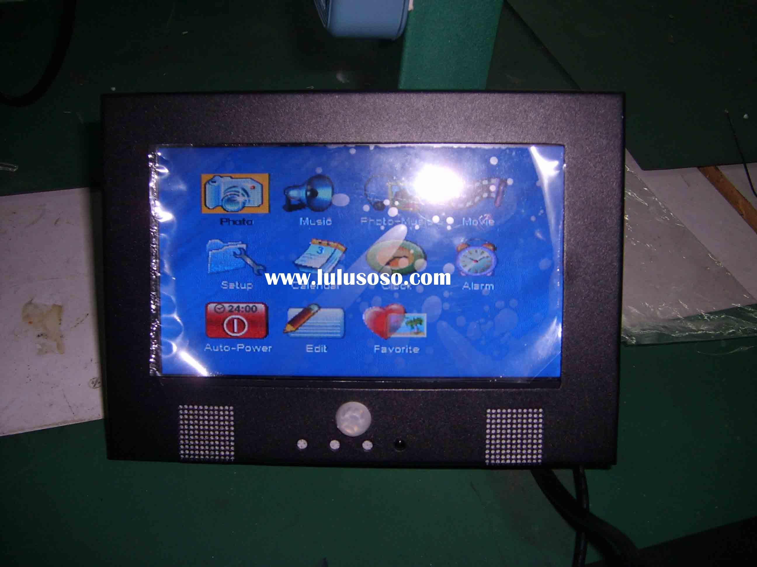 Bus LCD media player