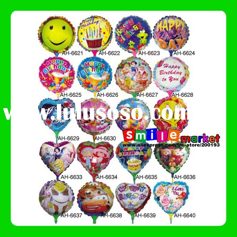 """CUSTOMIZED OR SMALL WHOLESALE STOCK MIX STYLES NEW 18"""" HOT SALE ADVERTISING ALUMINUM FOIL BALLO"""