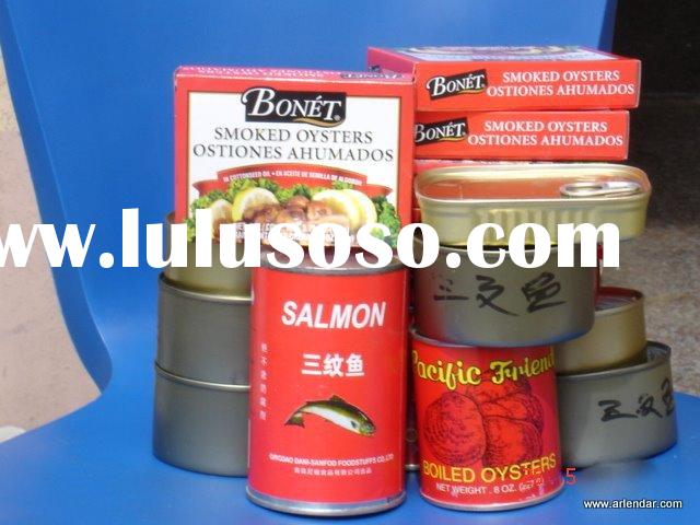 Canned Boiled Baby clams(Boiled Baby clams/Baby clams/Canned seafood)