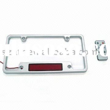 Car License Plate Frame with LED Display