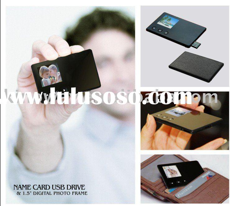 Card USB with 1.5 inch Digital Photo Frame