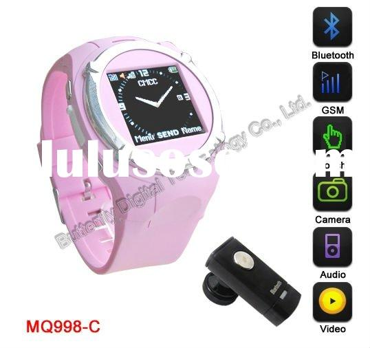 Cool Design Watch Mobile Phone with DVR $ Bluetooth, BM102