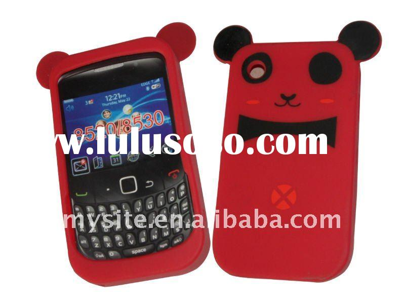 Cute Design! 2011 Newest Protective Cell Phone Silicon Case Covers for Blackberry Curve 8520/8530