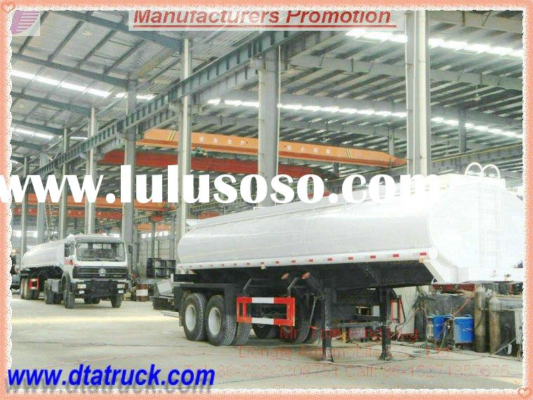 DTA 2/3-axles water tank semi trailer /semi-trailer water tanker 30 T Water Tank Semi Trailer manufa