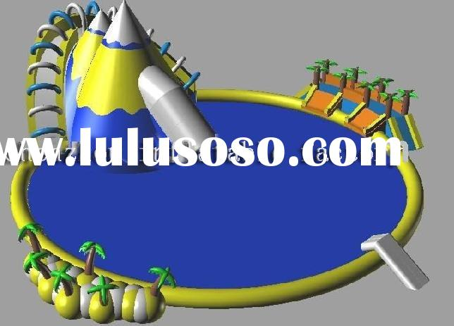 Dragon pool /inflatable water park / summer games/ inflatable water ground