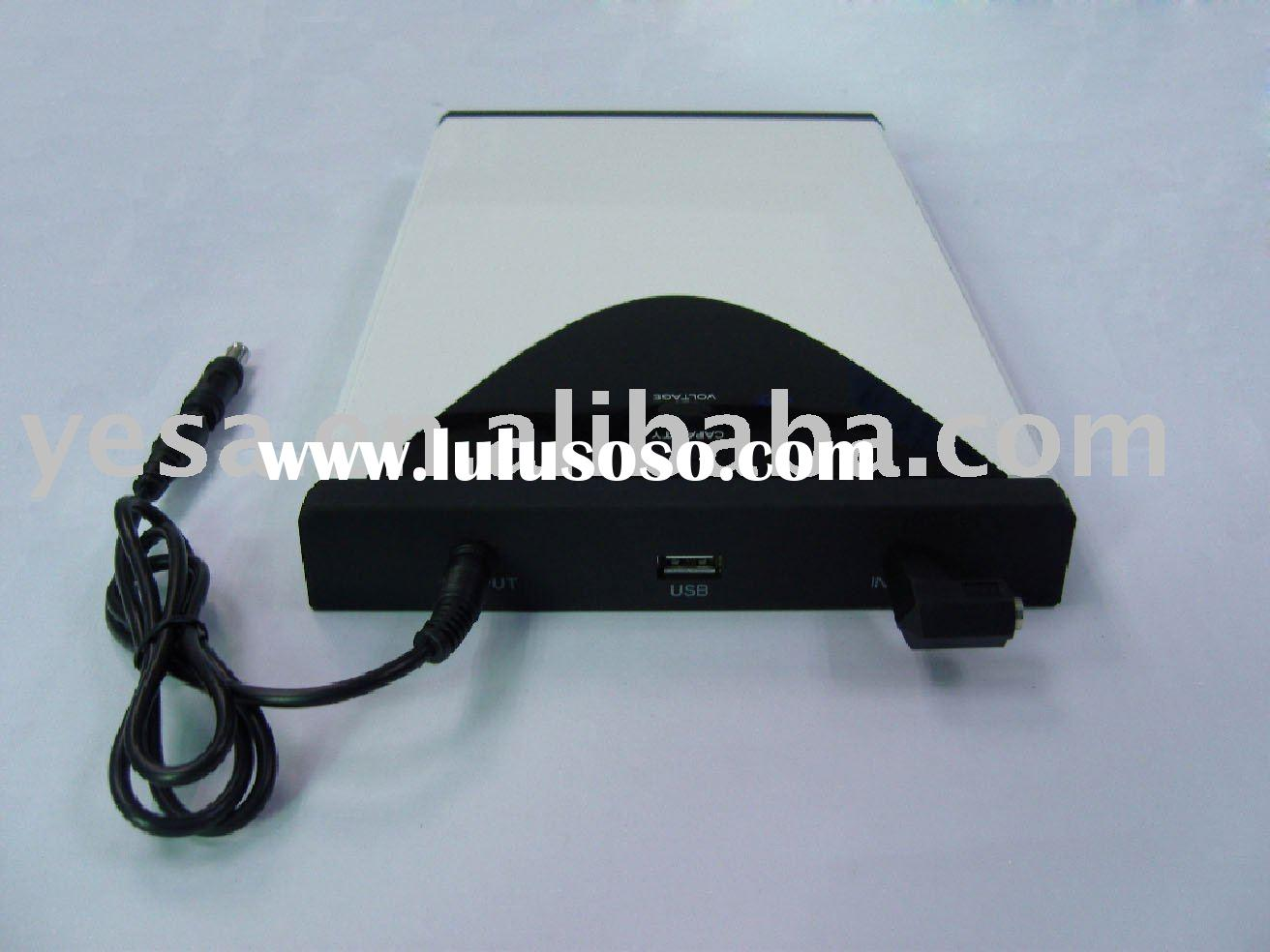 External battery pack and charger for phone/MP3/laptop/Digital Devices