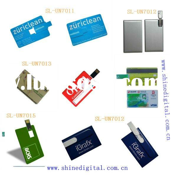 Factory OEM & ODM Plastic Credit usb flash memory card
