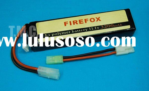 Firefox 11.1v 3200mAh (15C) Li-Polymer Battery Pack with Charger Set