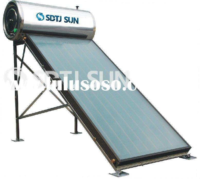 Flat Panel Solar Water Heater,Compact flat panel solar hot water system