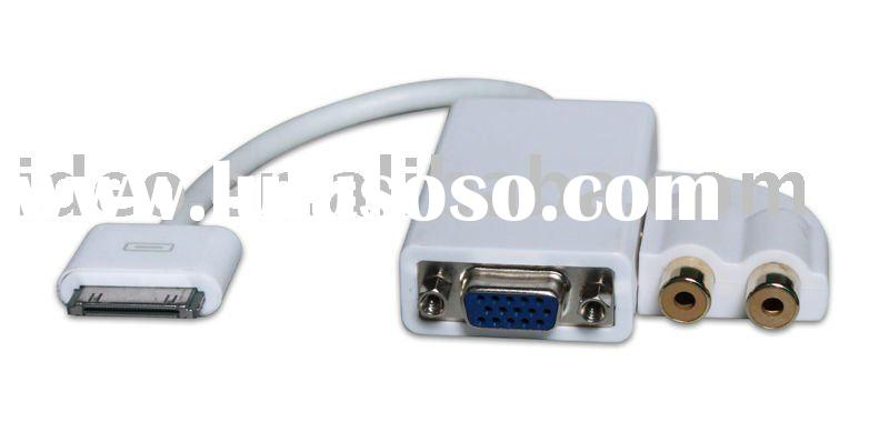 For Ipad to HDMI/VGA/DVI Audio adapter with cable for Apple iPad,iphone