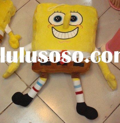Free shipping!! Wholesale Sponge Bob plush doll with long nose DSB004 dropshiping and accept paypal