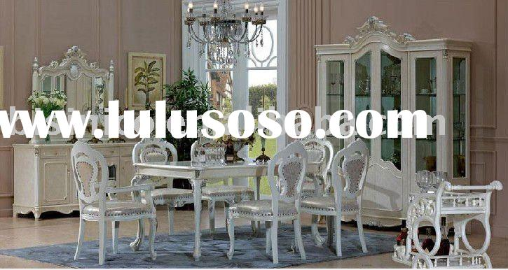 French country style villa furniture set   Villa dining room furniture B49149