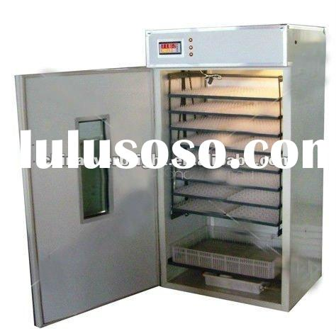 Full automatic chicken egg incubator for hatching