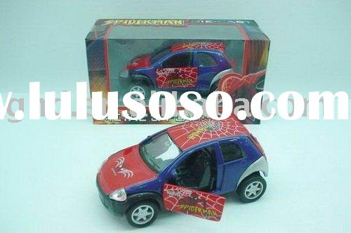 GHD83411 SPIDER MAN METAL PULL BACK CAR toy