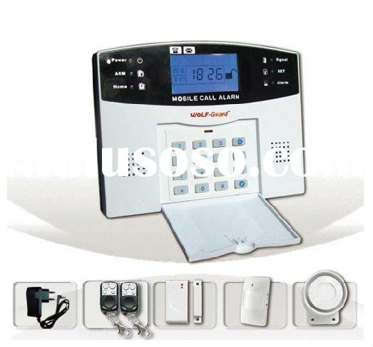 GSM Wireless Home Alarm System With Color LCD Display