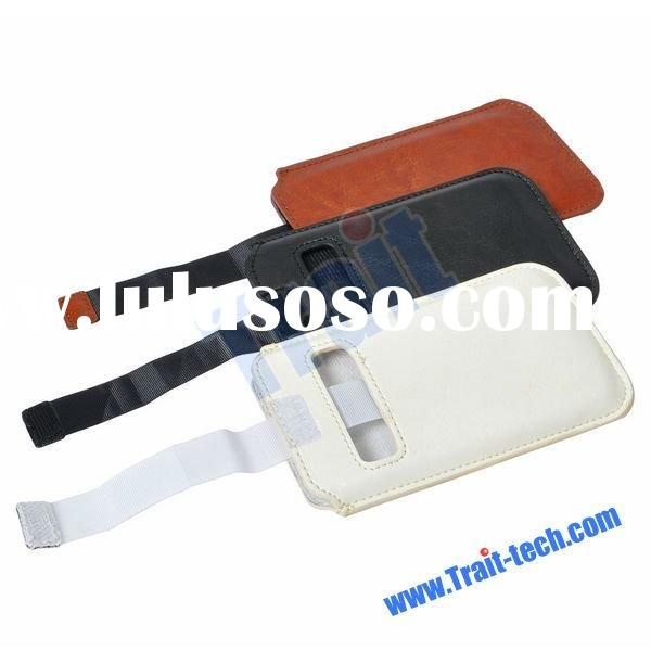 Genuine Leather Pouch Case for Samsung Galaxy S2 i9100