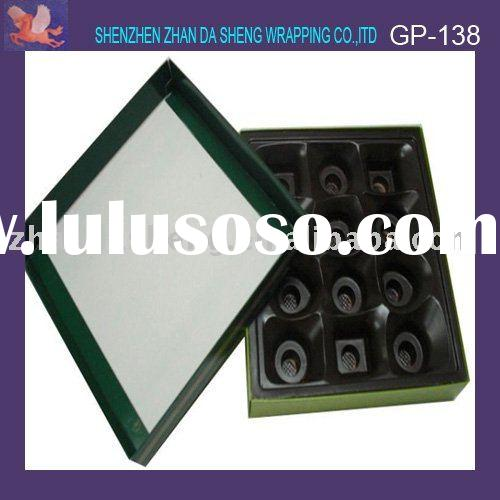 Gift chocolate packaging paper box