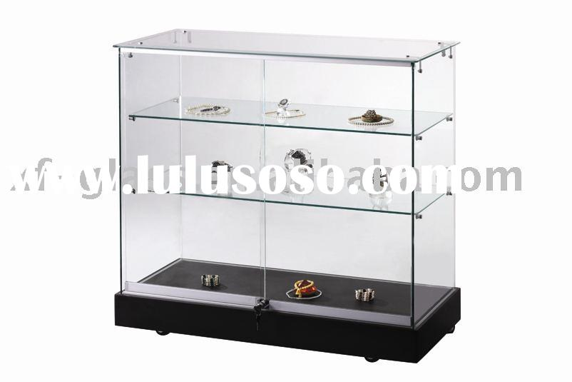 Glass show case;display;window display;cabinet;Jewellery Show Case-Sc93