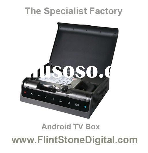 "Google Android Full HD Smart internet IPTV media player HP8809DB With built-in 3.5"" Hard Disk"