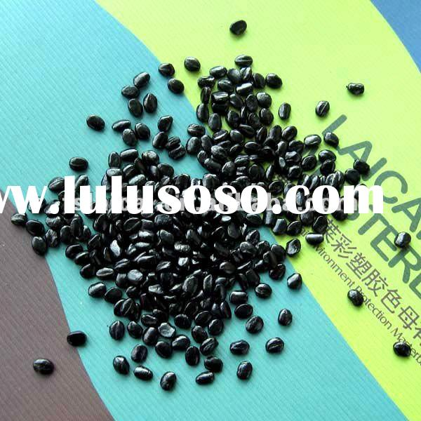Granule plastic black masterbatch for PE/PP blowing/extrusion/injection