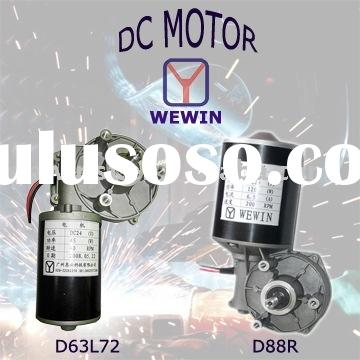 High Gear Ratio DC Motor