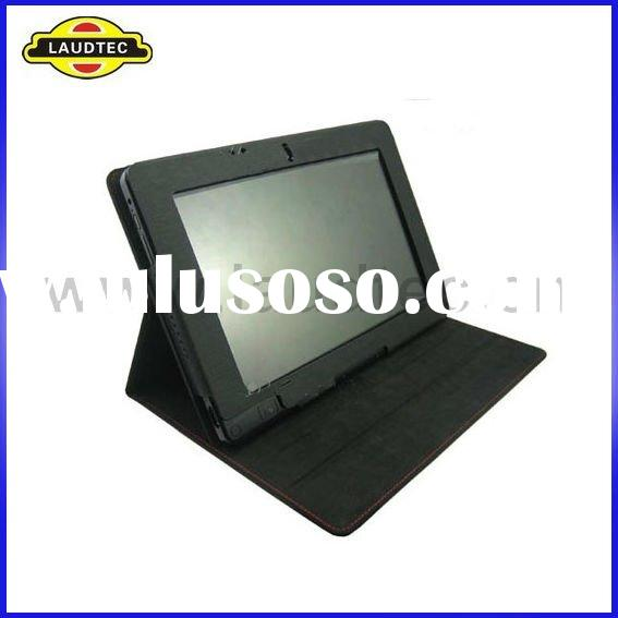 High Quality Black PU Leather Flip Case Back Cover for Acer Iconia Tab W500