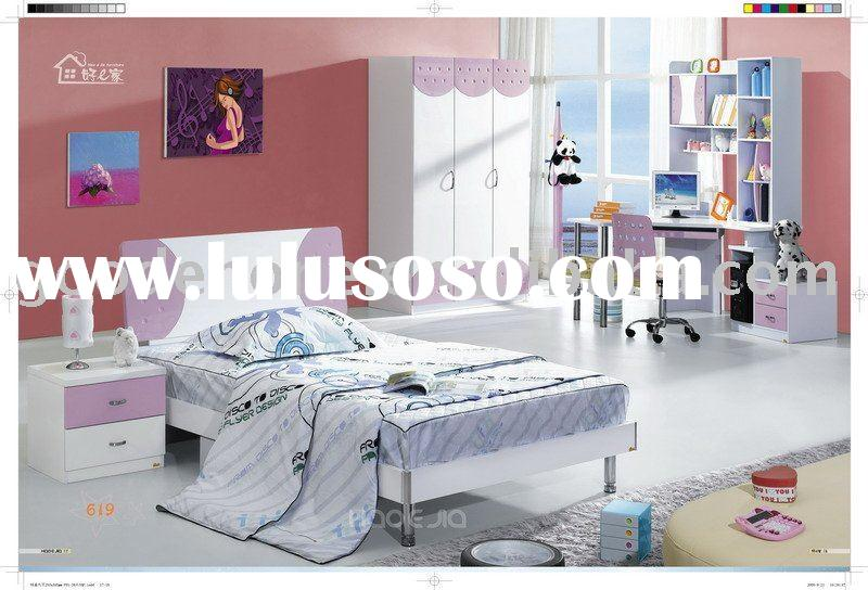High Quality MDF Simple Style Children Bedroom